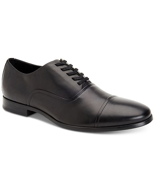 Calvin Klein Men's Saul Leather Oxfords