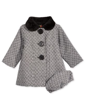 Baby girl tweed coat