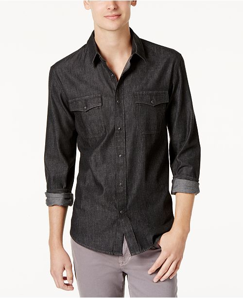 013065290a9 ... American Rag Men s Denim Shirt
