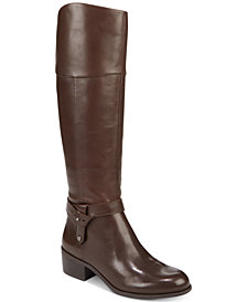 Alfani Women's Berniee Step 'N Flex Riding Boots, Created for Macy's