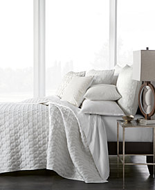 CLOSEOUT! Hotel Collection Inlay Quilted Full/Queen Coverlet, Created for Macy's