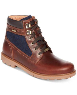 Rockport Menu0027s Rugged Bucks High Boots, A Macyu0027s Exclusive Style   All Menu0027s  Shoes   Men   Macyu0027s