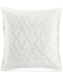 CLOSEOUT! Hotel Collection Inlay Cotton European Sham, Created for Macy's