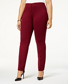 Plus Size Hollywood Skinny Ponte Pants, Created for Macy's