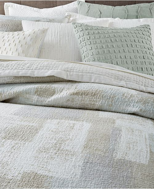 Hotel Collection Alabaster: Hotel Collection Brushstroke Bedding Collection, Created