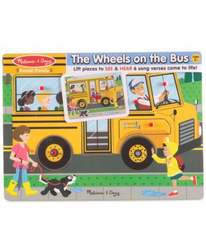 Melissa & Doug The Wheels On The Bus Puzzle 5075011