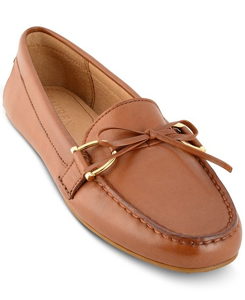 d7b68c1287c4 Lauren Ralph Lauren Briley Moccasin Flats   Reviews - Flats - Shoes ...
