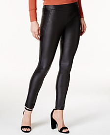 Coated Skinny Pants, Created for Macy's