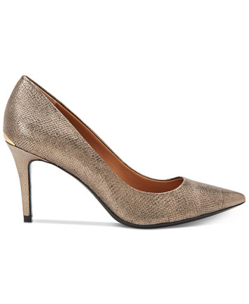 Image 2 of Calvin Klein Women's Gayle Pointed-Toe Pumps