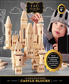 FAO Schwarz Wood Castle Blocks