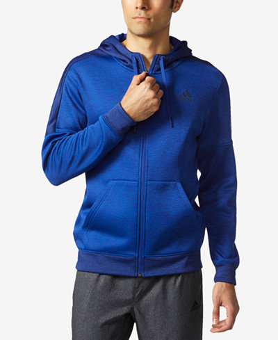 adidas Men's Team Issue ClimaWarm® Zip Fleece Hoodie