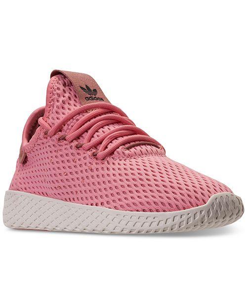 ... adidas Big Girls    Originals Pharrell Williams Tennis HU Casual  Sneakers from Finish ... 3d83c1eabe0