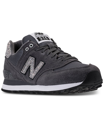 New Balance Women S 574 Shattered Pearl Casual Sneakers From Finish Line