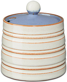 Denby Dinnerware Heritage Fountain Collection 2-Pc. Covered Sugar Bowl
