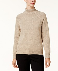 Marled Cotton Turtleneck Sweater, Created for Macy's
