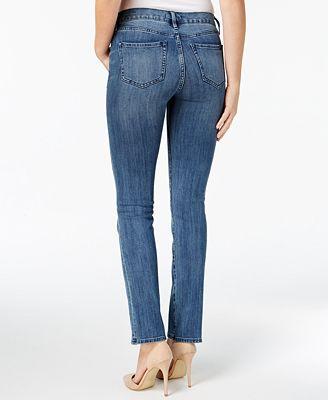 Buffalo David Bitton Faith Straight-Leg Jeans - Jeans - Women - Macy's