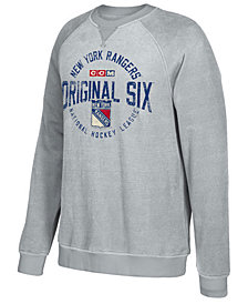 CCM Men's New York Rangers Original 6 Classic Crew Sweatshirt