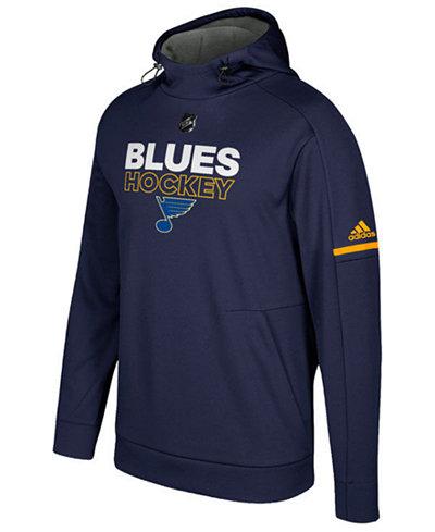 adidas Men's St. Louis Blues Authentic Pro Hoodie