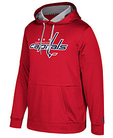 adidas Men's Washington Capitals Primary Pullover Social Hoodie