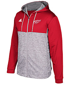 adidas Men's Detroit Red Wings Two Tone Full-Zip Hoodie