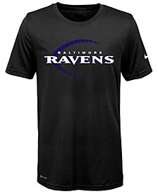 Nike Baltimore Ravens Legend Icon T-Shirt, Big Boys (8-20)