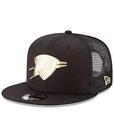New Era Oklahoma City Thunder Metal Mesh 9FIFTY Snapback Cap