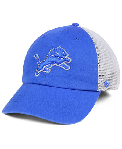 '47 Brand Detroit Lions Deep Ball Mesh CLOSER Cap
