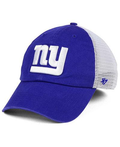 '47 Brand New York Giants Deep Ball Mesh CLOSER Cap