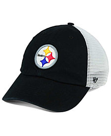 '47 Brand Pittsburgh Steelers Deep Ball Mesh CLOSER Cap