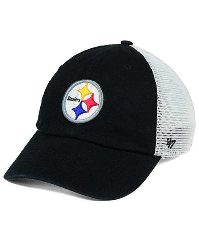 '47 Brand Pittsburgh Steelers Deep Ball Mesh CLOSER Cap
