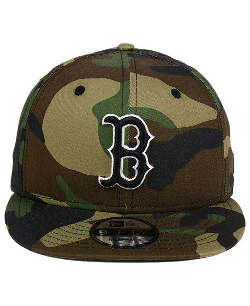 b839cc95594f44 ... coupon code new era. boston red sox woodland black white 9fifty snapback  cap. be
