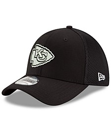 Kansas City Chiefs Black/White Neo MB 39THIRTY Cap