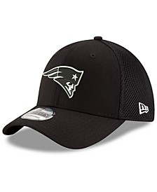 New England Patriots Black/White Neo MB 39THIRTY Cap
