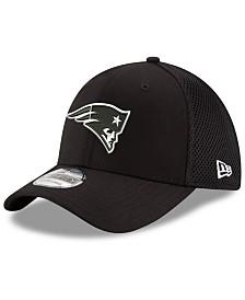 New Era New England Patriots Black/White Neo MB 39THIRTY Cap