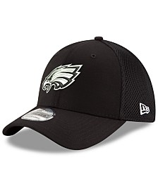 New Era Philadelphia Eagles Black/White Neo MB 39THIRTY Cap
