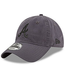 New Era Atlanta Braves Graphite 9TWENTY Cap