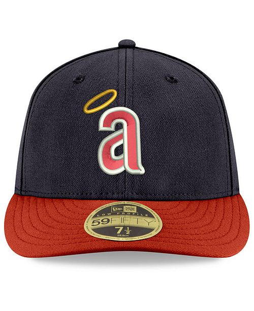 New Era. Los Angeles Angels Cooperstown Low Profile 59FIFTY Fitted Cap. Be  the first to Write a Review. main image  main image  main image ... cf644de5d7bd
