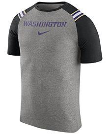 Nike Men's Washington Huskies Shoulder Stripe T-Shirt