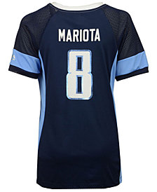Majestic Women's Marcus Mariota Tennessee Titans 2017 Draft Him T-Shirt