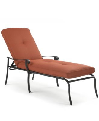 Chateau Cast Aluminum Outdoor Chaise Lounge