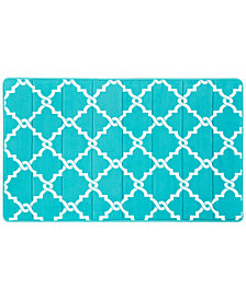Madison Park Essentials Merritt Fretwork-Print Bath Collection