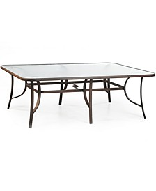 "Oasis Outdoor 84"" x 60"" Dining Table, Created for Macy's"