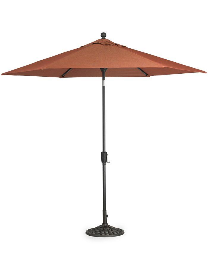 Furniture - Chateau Outdoor 9' Patio Umbrella & Base