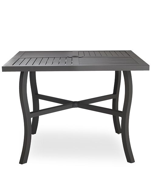 Furniture closeout aluminum 40 square outdoor dining table main image main image watchthetrailerfo