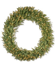 "60"" Norwood Fir Wreath with Clear Lights"