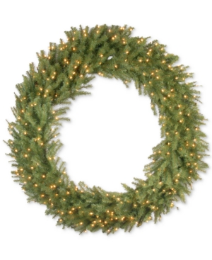 National Tree Company 60 Norwood Fir Wreath With 300 Clear Lights