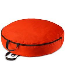 """30"""" Red Heavy Duty Wreath Storage Bag"""
