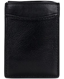 Patricia Nash Men's Leather Money Clip Credit Card Case
