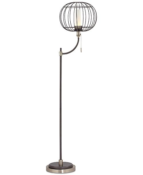 Kathy Ireland CLOSEOUT! Pacific Coast Aviary Wire Cage Floor Lamp