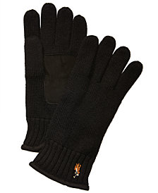 Polo Ralph Lauren Men's Classic Lux Merino Wool  Gloves